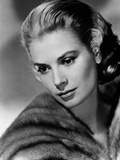 Portrait of Grace Kelly Black and White Photo by  Movie Star News