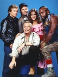 Portrait of A-Team Movie Cast Photo by  Movie Star News