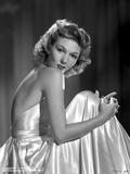 Mary Martin on a Backless Silk Dress Portrait Photo av  Movie Star News