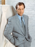 Stephen Collins Posed in Gray Tuxedo Photo by  Movie Star News