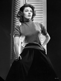Ruth Roman in Fit Dress Portrait Photo by  Movie Star News