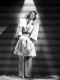 Mary Martin on a Coat standing and Leaning Photo by  Movie Star News