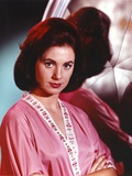 Shirley Jones Close Up Portrait in Pink Silk Long Sleeve Robe with Arms Crossed Photo by  Movie Star News