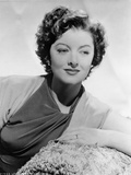 Myrna Loy Leaning in Classic Photo by  Movie Star News