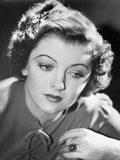 Myrna Loy Portrait in Classic with Ring Photo by  Movie Star News