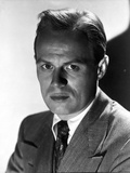 Richard Widmark Posed in Suit Photo by  Movie Star News