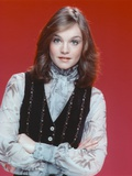 Pamela Sue Martin Posed in Black Vest Photo by  Movie Star News
