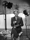 Patricia Neal Holding Tea Cup in Formal Attire Photo by  Movie Star News