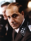 Stanley Tucci Posed in Black Uniform Photo by  Movie Star News
