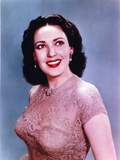 Linda Darnell in Net Dress Portrait Photo by  Movie Star News