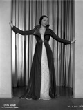 Sylvia Sidney wearing a Black Long Sleeve and Long Coat Photo by  Movie Star News