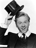 Mickey Rooney in posed in Portrait Photo by  Movie Star News