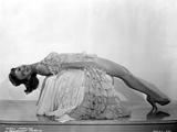 Mary Martin on a Ruffled Dress and Lying on Chair Photo av  Movie Star News