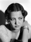 Sylvia Sidney Posed in a White Blouse with Bracelet Photo by  Movie Star News