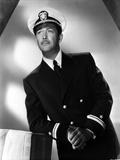 Robert Taylor posed in Navy Uniform Photo by  Movie Star News