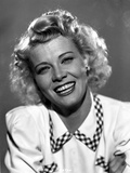 Penny Singleton smiling in White Blouse Close Up Portrait Photo by  Movie Star News