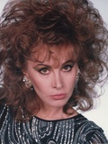 Stefanie Powers Looking Serious in Close Up Portrait Photo by  Movie Star News