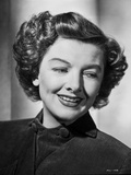 Myrna Loy smiling Portrait in Classic with Earrings Photo by  Movie Star News