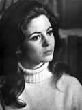 Portrait of Barbara Parkins wearing Turtle Neck Sweater Photo by  Movie Star News