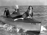 Ruth Roland Sailing in Classic Photo by  Movie Star News