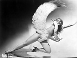 Sally Rand Topless with Wings Photo by  Movie Star News