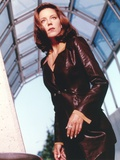 Pretender as Andrea Parker in Formal Outfit Photo by  Movie Star News