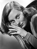 Michele Morgan Leaning Portrait Photo by  Movie Star News