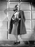 Mary Martin on a Dark Coat standing Portrait Photo av  Movie Star News