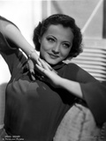 Sylvia Sidney wearing a Long Sleeve Blouse Photo by  Movie Star News