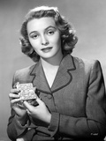 Patricia Neal on a Blazer Portrait Photo by  Movie Star News
