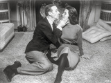 Silk Stockings Kissing While sitting on The Floor Photo by  Movie Star News