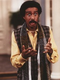 Richard Pryor Talking in Checkered Vest and Black Scarf Photo by  Movie Star News