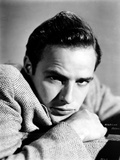 Marlon-B Brando Close Up Portrait wearing a Suit Photo by  Movie Star News
