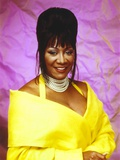 Patti LaBelle Posed in Yellow Gown Photo by  Movie Star News
