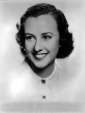 Margaret Lindsey in White with White Background Photo by  Movie Star News
