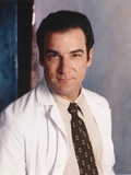 Mandy Patinkin Posed in White Doctor Outfit with Necktie Photo by  Movie Star News