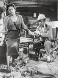 Porgy And Bess Couple Picture in Black and White Photo by  Movie Star News