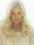 Sally Struthers Posed in White Dress Portrait Photo by  Movie Star News