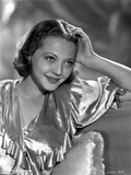 Sylvia Sidney Posed in a Silk Dress Photo by  Movie Star News