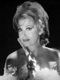 Portrait of Arlene Dahl posed in Black Background Photo by  Movie Star News
