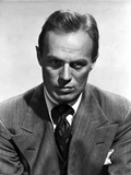 Richard Widmark Close Up in Classic Portrait Photo by  Movie Star News