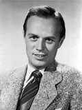 Richard Widmark smiling in Suit Photo by  Movie Star News