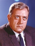 Raymond Burr in Tuxedo Close Up Portrait Photo by  Movie Star News