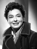 Ruth Roman smiling in Classic Portrait Photo by  Movie Star News