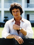 Patrick Duffy smiling in White Long Sleeves Photo by  Movie Star News