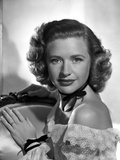 Priscilla Lane on an Off-Shoulder Lace posed Photo by  Movie Star News