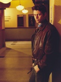 Portrait of Thomas Howell in Brown Leather Jacket Photo by  Movie Star News