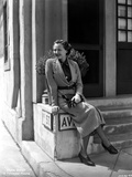 Sylvia Sidney wearing a Blazer Photo by  Movie Star News
