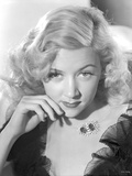 Portrait of Gloria Grahame Posed Curly Hair Photo by  Movie Star News