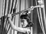 Strait Jacket Woman Holding an Axe Photo by  Movie Star News